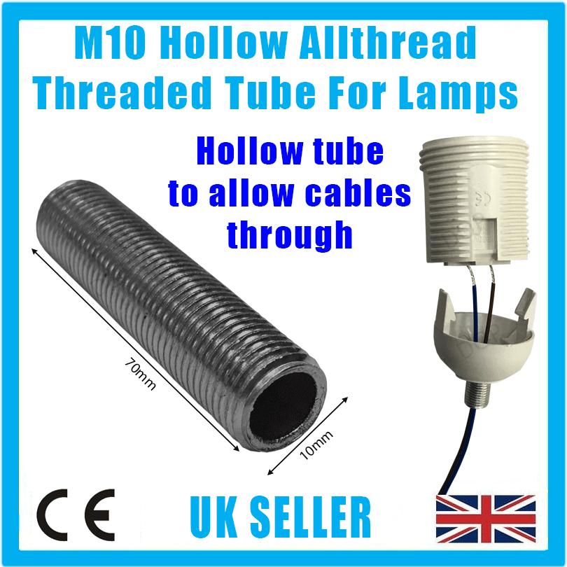 M mm allthread hollow threaded rod tube for