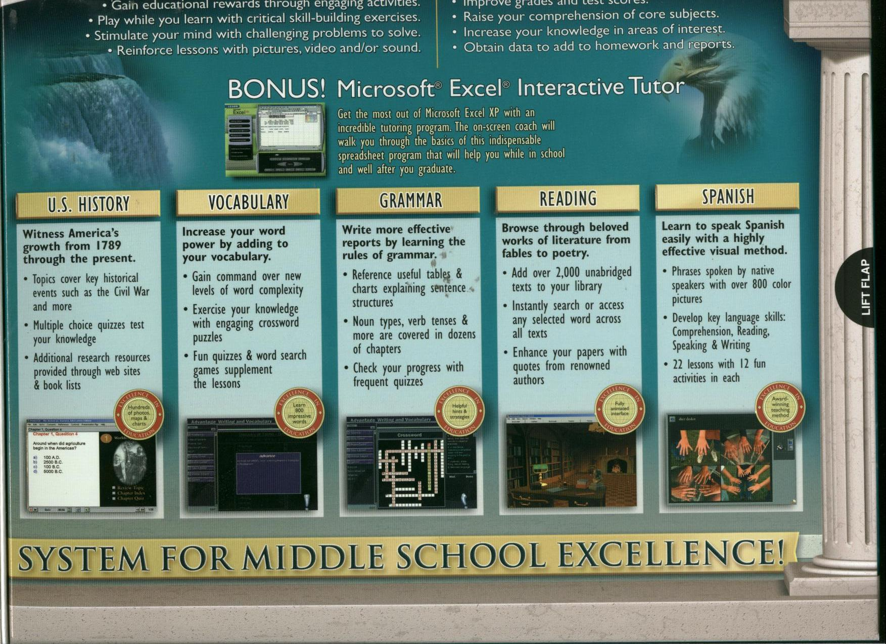 Middle school advantage deluxe ages 10 16