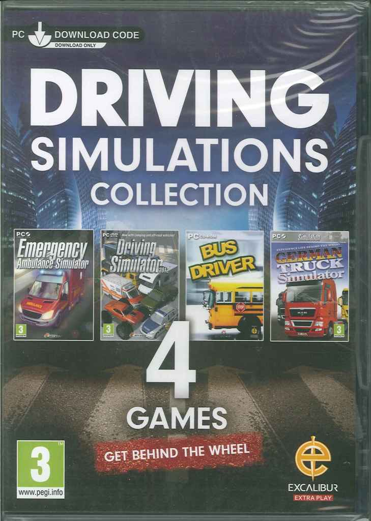 Details about Driving, Ambulance, Bus & German Truck Simulator Simulations  Collection, 4 Games